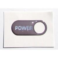Power sticker - Chrome