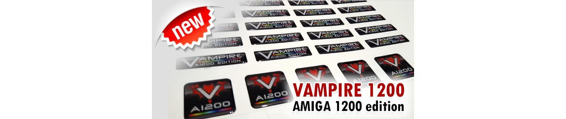 Vampire A1200 - 3D Stickers